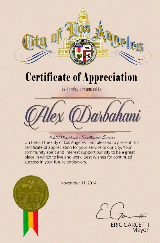kls-City-of-Los-Angeles-certificate-of-appreciation